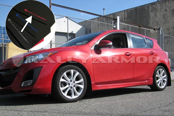 Rally Armor 2010+ Mazda 3 / Speed 3 Urethane Mud Flaps ...