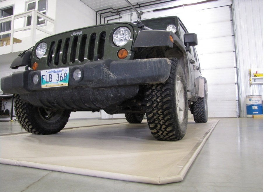 to how steps mat unroll follow g your install in easy mats screenshot floor on instaling vinyl flooring the garage