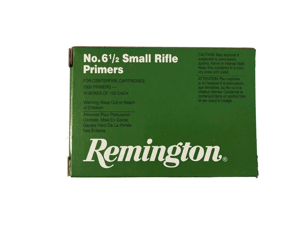 Remington 6 5 Small Rifle Primers - Box 1000 :: Reloading Primers