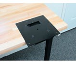 Inline Fabrication Flush Mount Quick Change System Base Plate