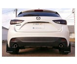 Rally Armor 2014+ Mazda 3 UR Mud Flaps