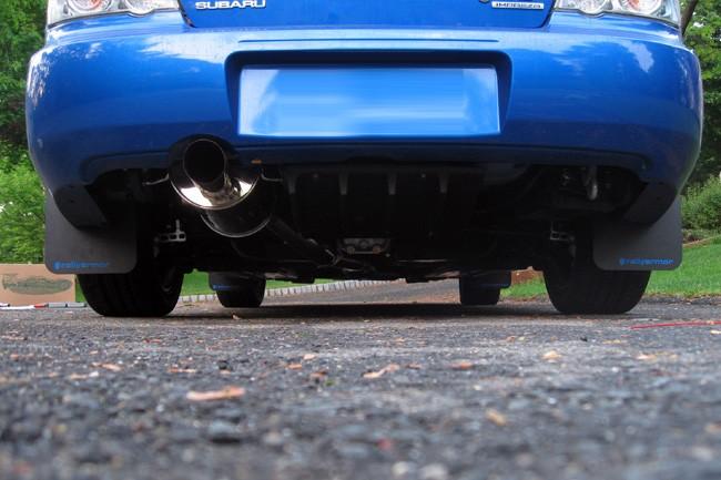 Rally Amor 02-07 Subaru WRX & STI Classic Mud Flaps