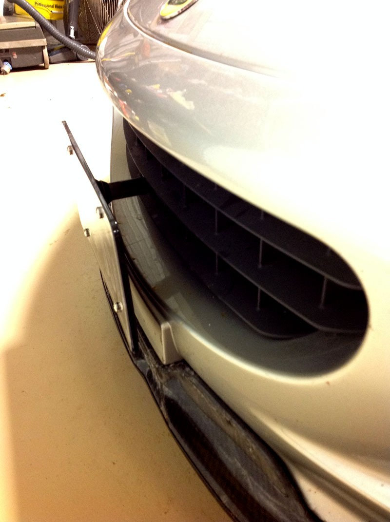 Lotus Exige NO HOLES License Plate Bracket **CLEARANCE**