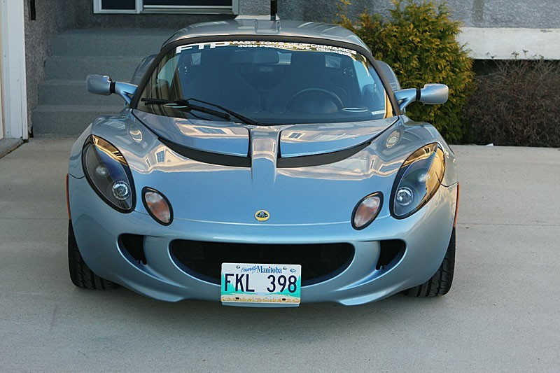 FTP Lotus Elise & Exige No Drill License Plate Mount