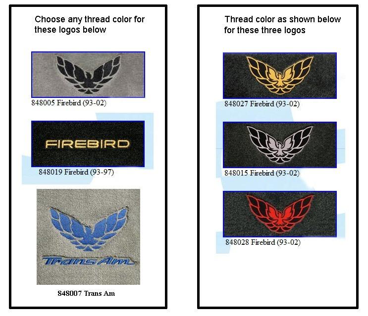Lloyd Floor Mats For 93-02 Firebird - Free Shipping!
