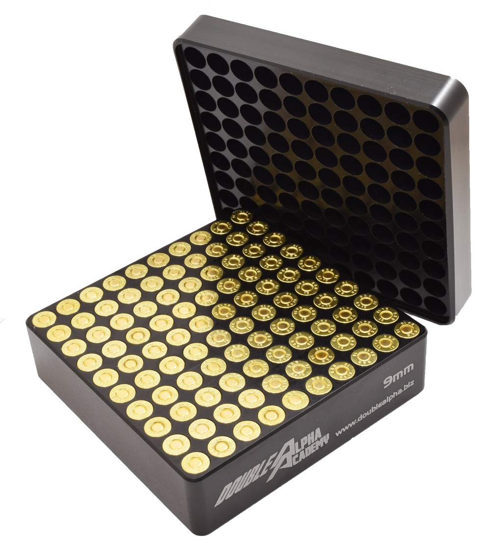 DAA 100 Pocket 9mm Case Gauge With Flip Tray