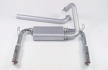 Mac 95-97 LT1 Camaro/Firebird Dual Cat Exhaust w/ Chrome Tips