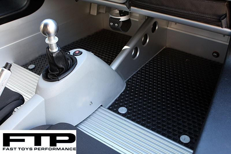 FTP Lotus Elise & Exige Rubbertite Floor Mats w/ Foot Rest Delete