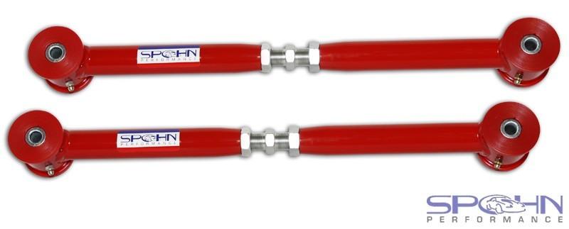 Spohn Adjustable Tubular Lower Control Arms With Poly Bushings -