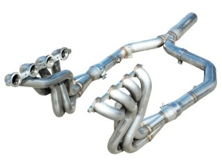 "ARH 2000 LS1 1 7/8"" Emission Headers w/ Off-Road Y-Pipe"