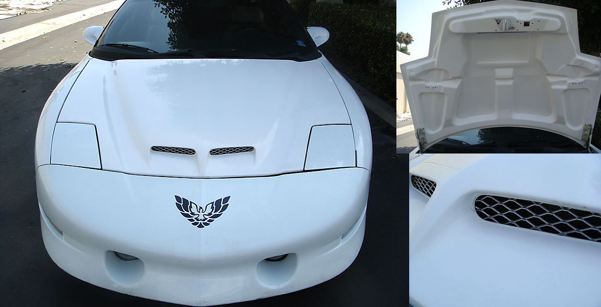 Trufiber Firebird WS6 Ram Air Hood (1993-1997) TF40020-A57