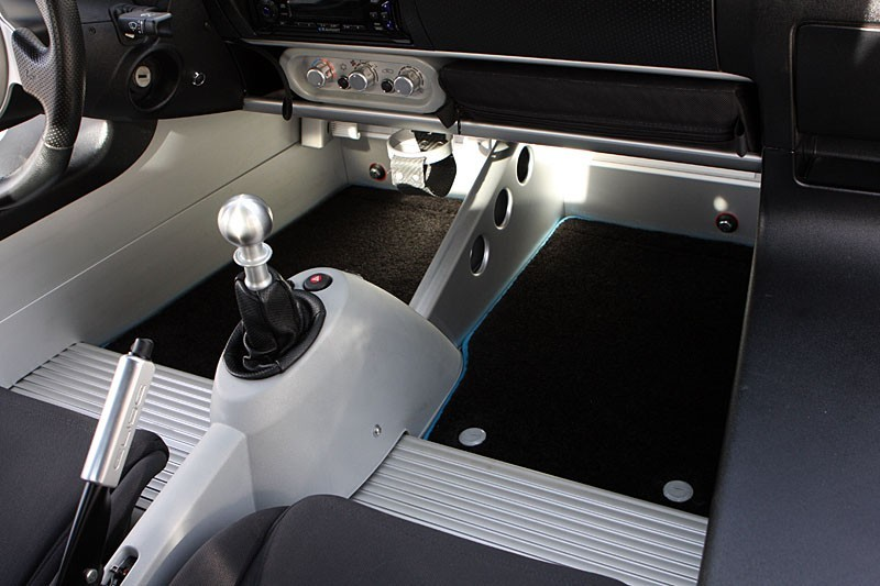 FTP Premium Lotus Elise & Exige Floor Mat Set w/ Foot Rest Delete