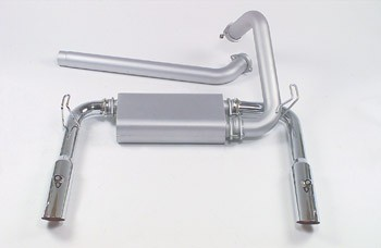 Mac 93-95 LT1 Camaro/Firebird Single Cat Exhaust w/ Chrome Tips