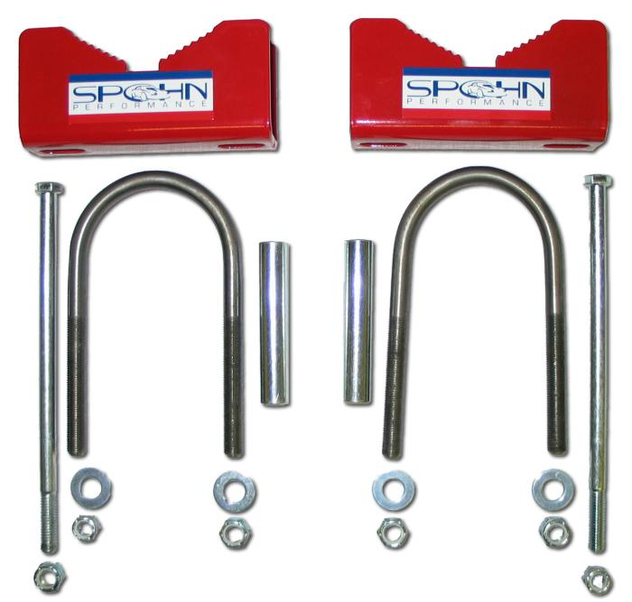 Spohn Aftermarket Rear End Sway Bar Installation Kit
